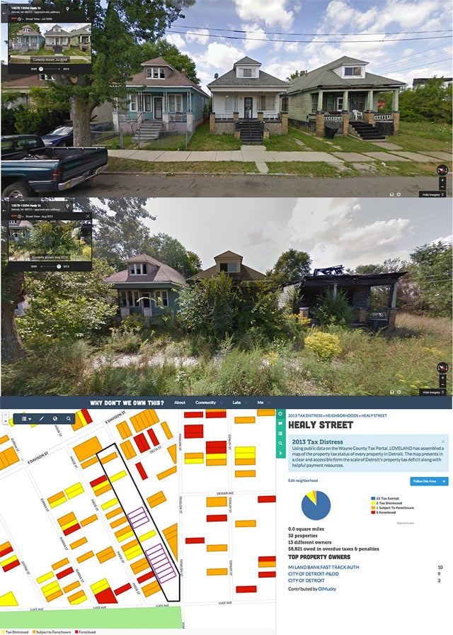 Tracking Detroit's Decay Through Google Street View on