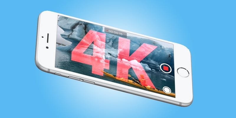 Illustration for article titled 4K Video on the iPhone 6s Is the Future, and No One Will Care