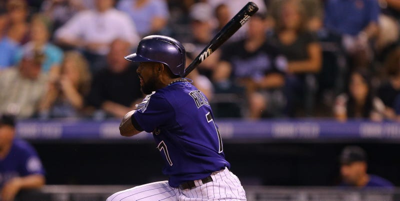 Illustration for article titled Jose Reyes Is Not Enjoying His Time With The Rockies