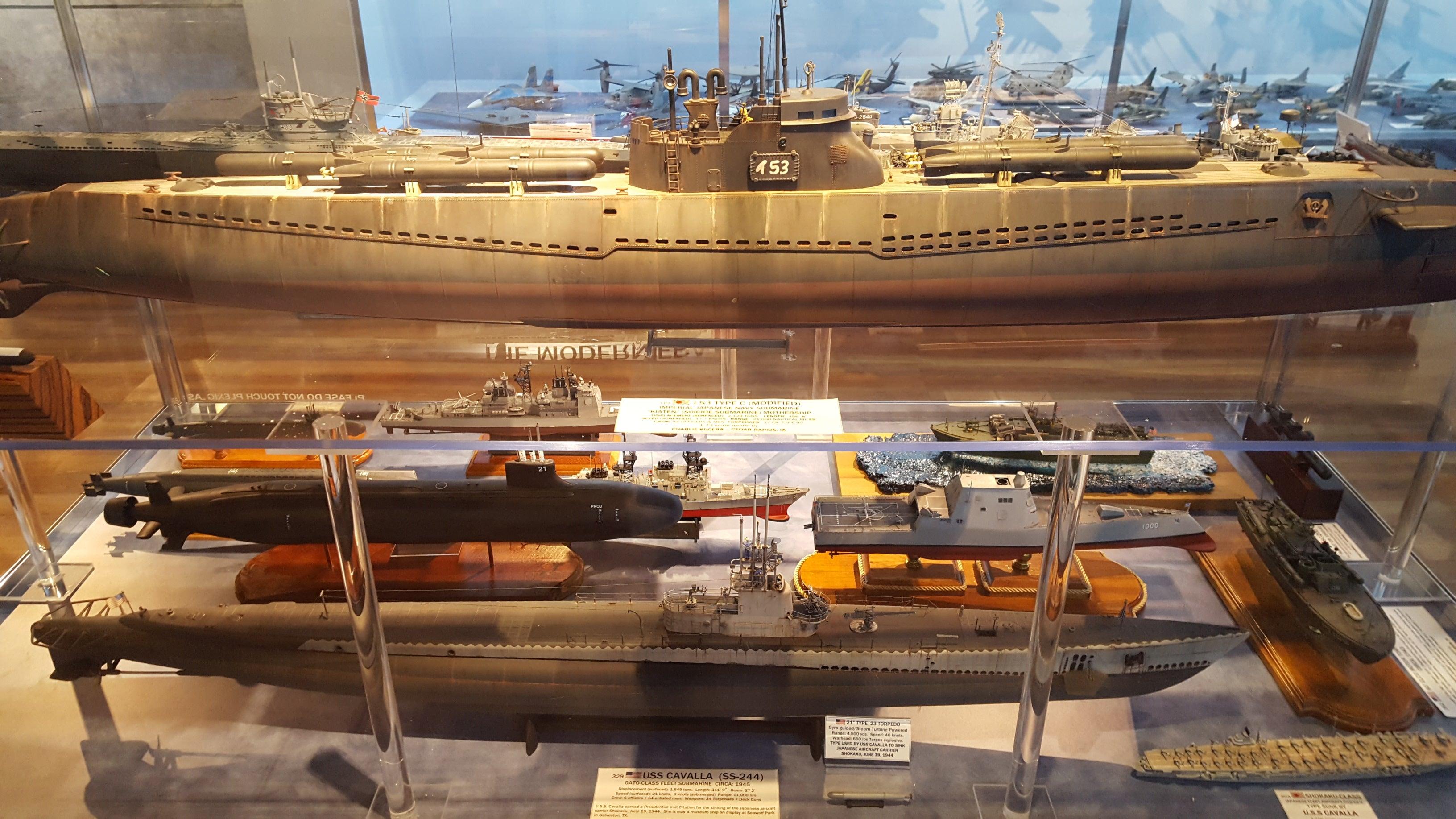 LaLD: the models aboard the USS Lexington