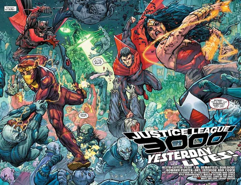 Illustration for article titled Anyone else been reading Justice League 3000?