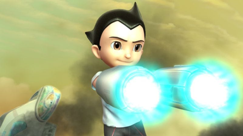 Illustration for article titled Astro Boy