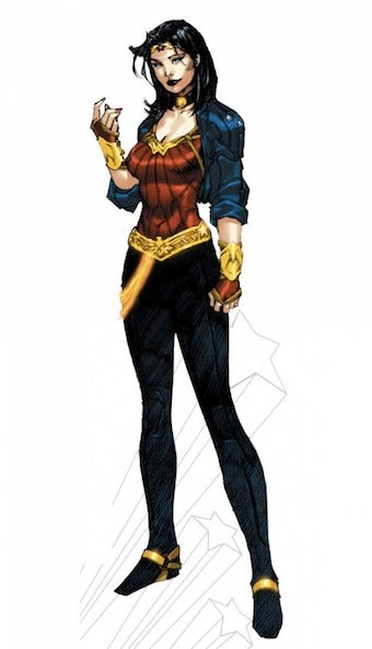Illustration for article titled Wonder Woman Gets Rad Redesign