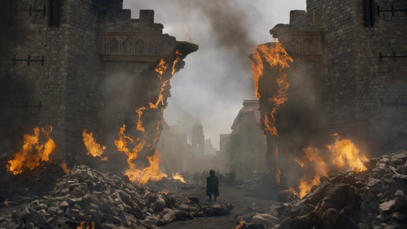 Illustration for article titled Here's how Game Of Thrones destroyed King's Landing once and for all
