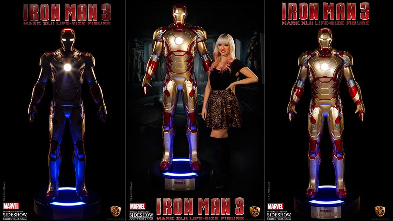 Can You Really Call This Life-Size Iron Man MARK 42 Suit a ...