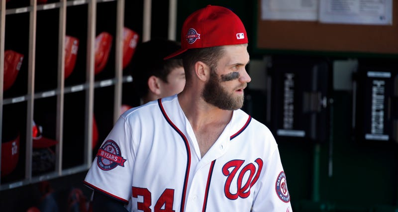 "Illustration for article titled Bryce Harper: Nationals Fans Leaving Early Was ""Brutal"""