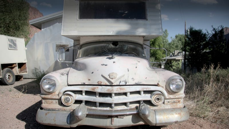If 1950s Mobsters Went Camping They D Take This Cadillac
