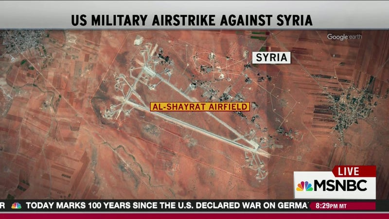 Image result for bombed syrian airfield