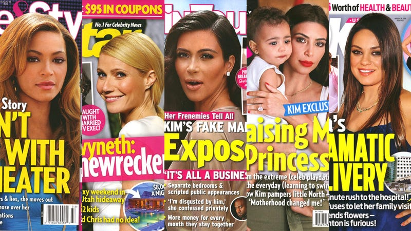 Illustration for article titled This Week in Tabloids: Gwyneth's Sexing a Married Producer from Glee