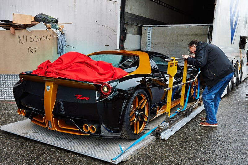 Illustration for article titled What is this strange 458 Italia?
