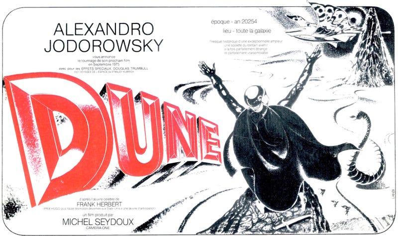 Illustration for article titled La Dune de Jodorowsky y Moebius: los diseños y arte conceptual de la película fallida