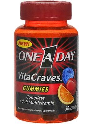 Yes, I take gummie vitamins. Stop laughing.