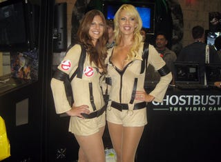 Illustration for article titled Ghostbusters: The Video Game Does Booth Babes Right