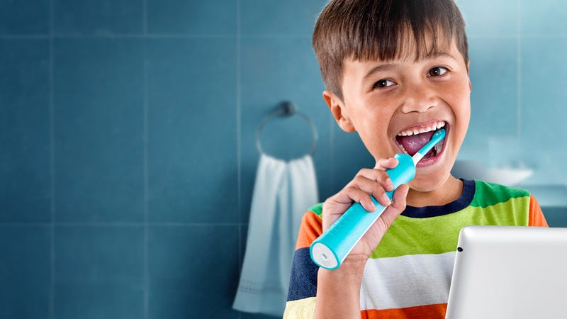 Image result for kid and toothbrush