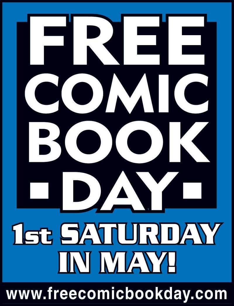 Illustration for article titled Free Comic Book Day Tomorrow!
