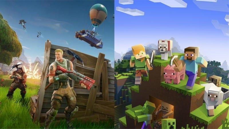 Illustration for article titled Minecraft nunca tendrá secuela, y aun así es mucho más popular que Fortnite y otros juegos modernos