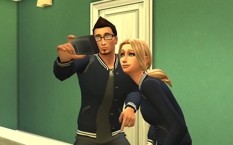 Illustration for article titled Sims Sure Love Selfies