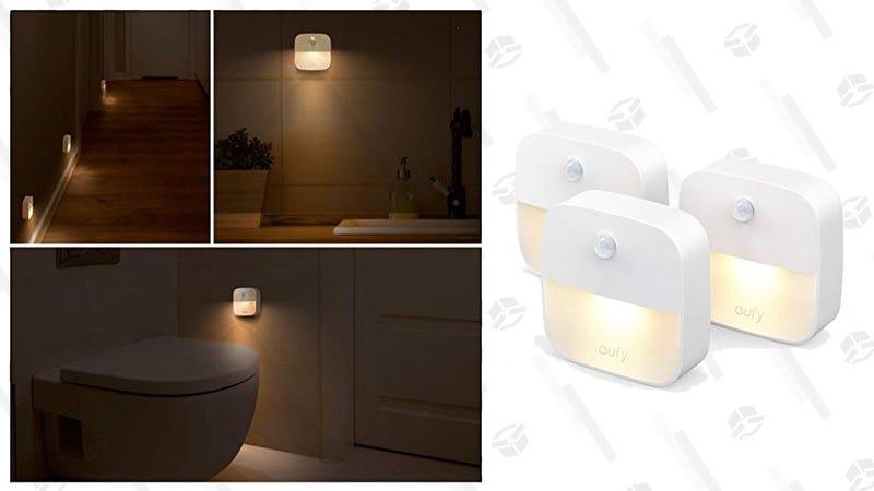 3-Pack Eufy Lumi Stick-Anywhere Night Lights | $11 | Amazon