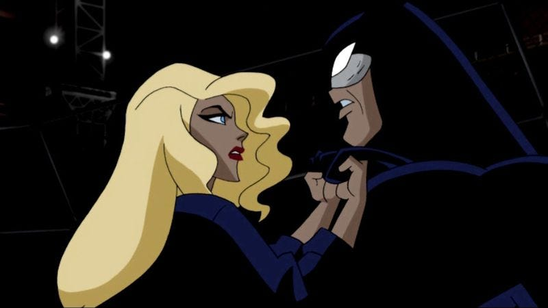 "Illustration for article titled Justice League Unlimited: ""The Cat And The Canary"""