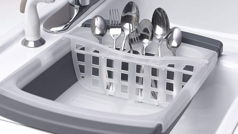 Prepworks by Progressive Collapsible Over-The-Sink Dish Drainer | $19 | Amazon