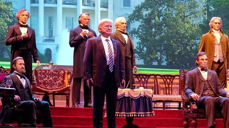 The Disney Hall Of Presidents