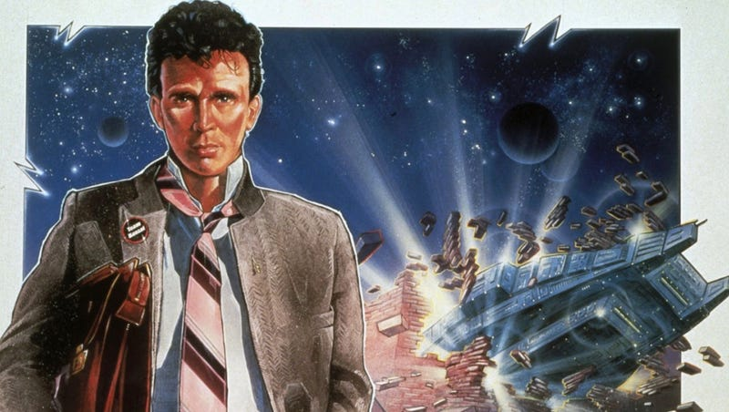 The poster for Buckaroo Banzai, which hits streaming this month.