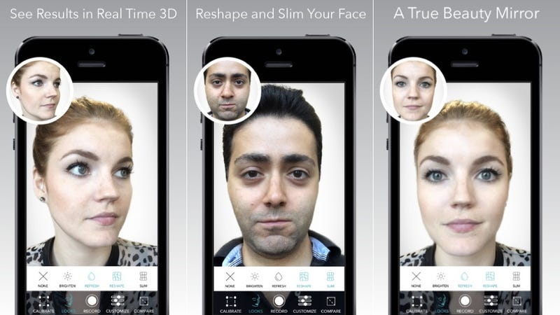 Illustration for article titled Beauty Apps Now Allow You to Photoshop Yourself