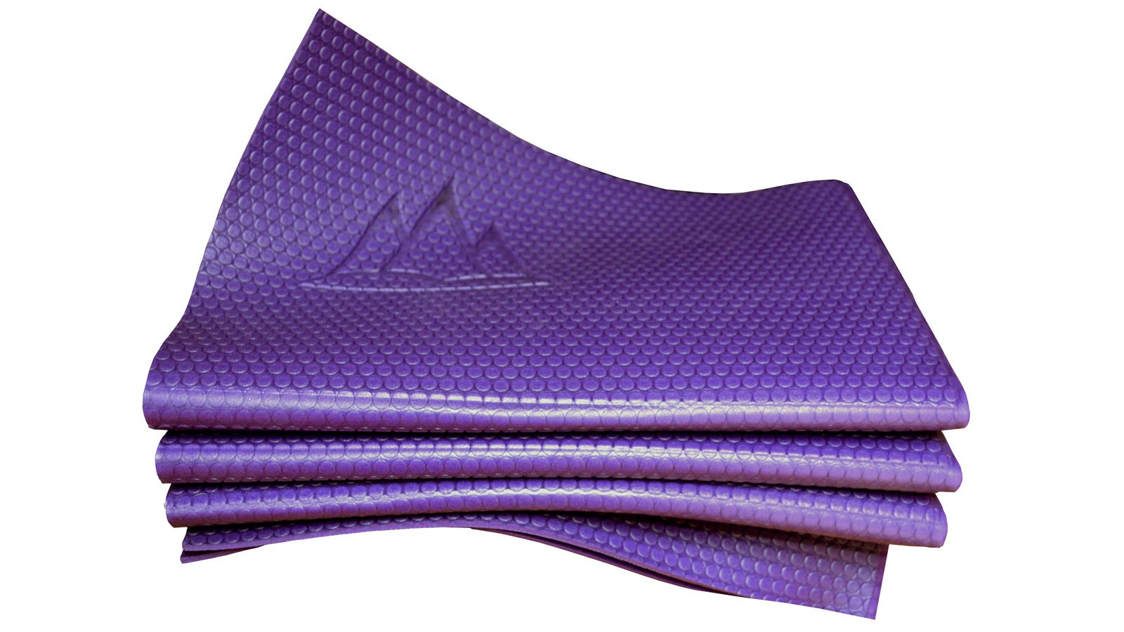 First Foldable Yoga Mat Goes Down To The Size Of A Book
