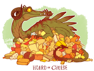 Illustration for article titled Meet The Dragons Who Hoard Cheese And Stuffed Animals Instead Of Gold