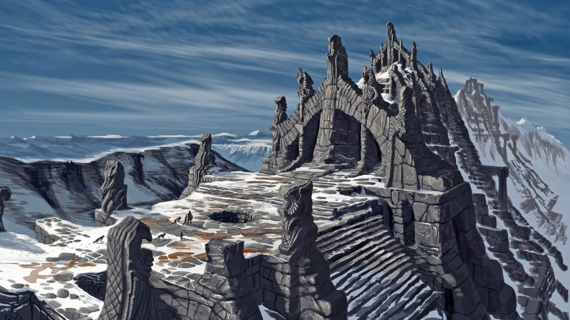 Illustration for article titled Skyrim Ported To Expensive Art Prints