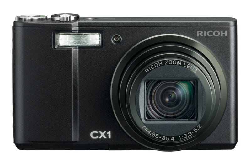 Illustration for article titled Ricoh CX1 Point and Shoot Does In-Camera High Dynamic Range, 120fps Slow-Mo