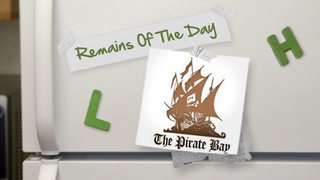 Illustration for article titled Remains of the Day: The Pirate Bay Goes to the Cloud