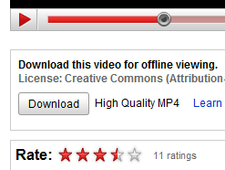 Illustration for article titled YouTube Offers (Official) Downloads and Purchases for Videos