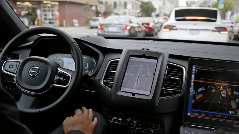 Illustration for article titled Uber CEO Compares Self-Driving Cars To 'Student Drivers'