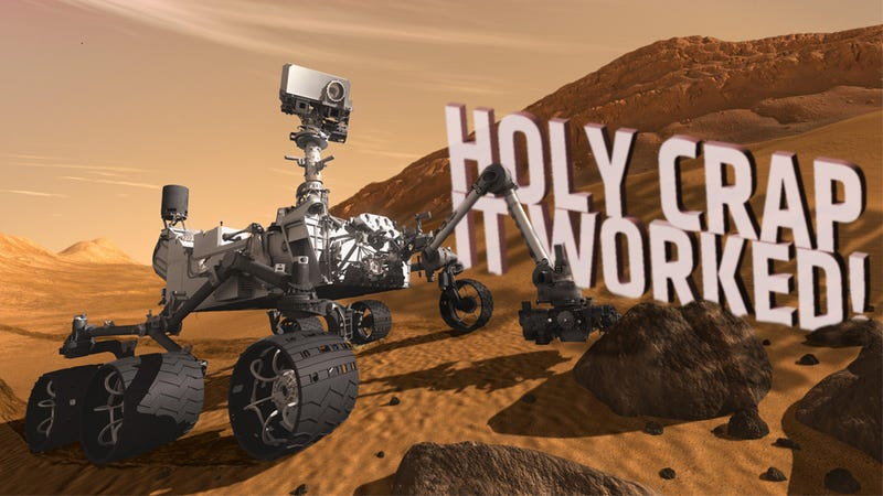 Illustration for article titled Live From NASA: Blogging The Curiosity Mars Rover Landing