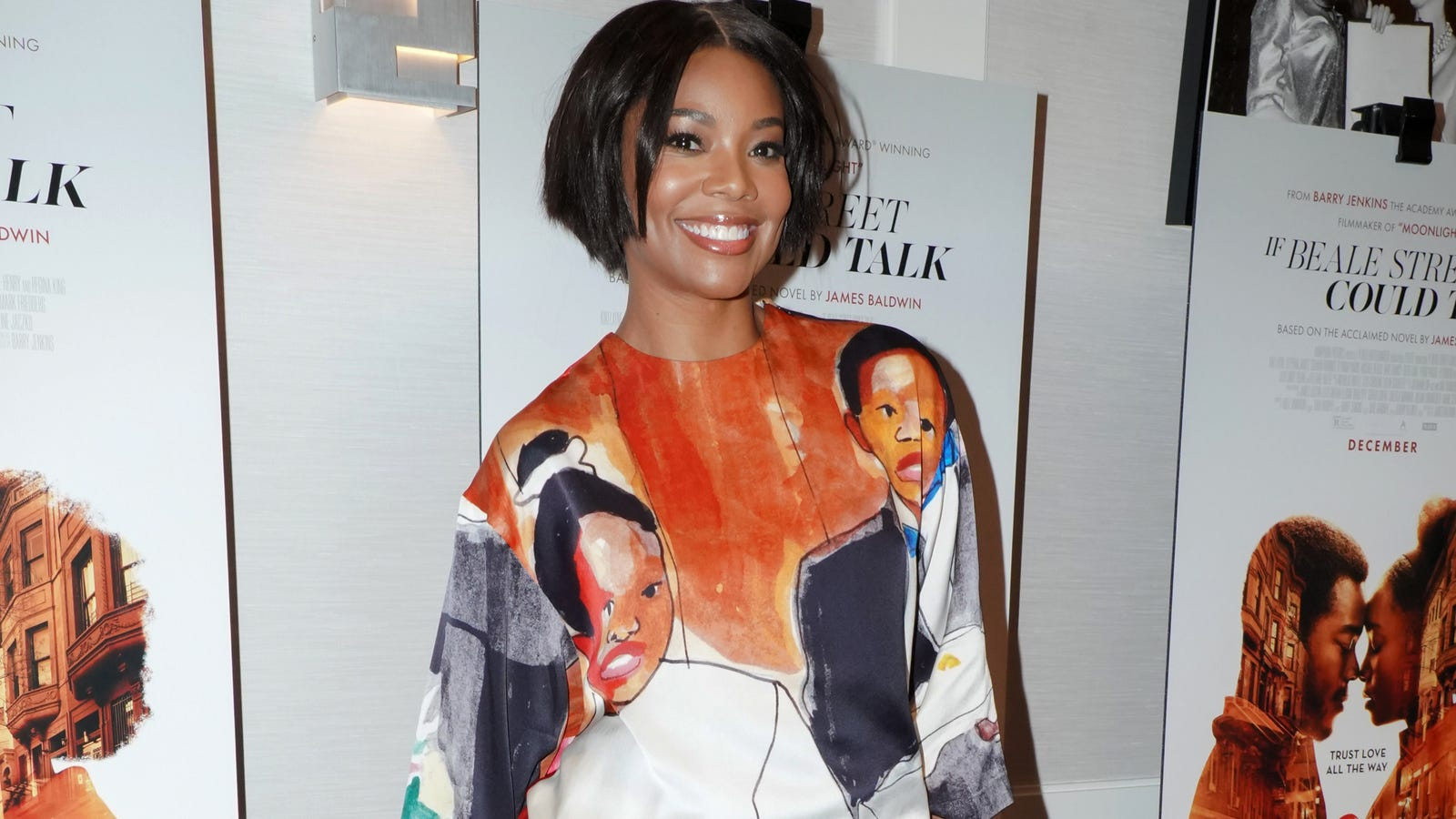 Gabrielle Union Honors If Beale Street Could Talk In Pyer Moss