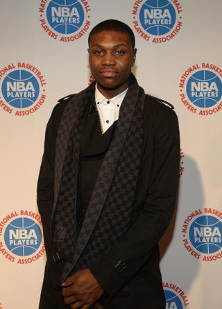 Cleanthony Early attends the NBPA All-Star Players Social at Capitale on Feb. 14, 2015, in New York City.Gustavo Caballero/Getty Images