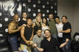 Illustration for article titled The Original Mortal Kombat Cast, Still Kicking Ass Two Decades Later