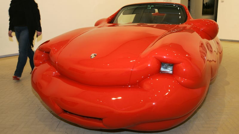 Make A Car >> Erwin Wurm S Fat Cars Will Make You Really Uncomfortable