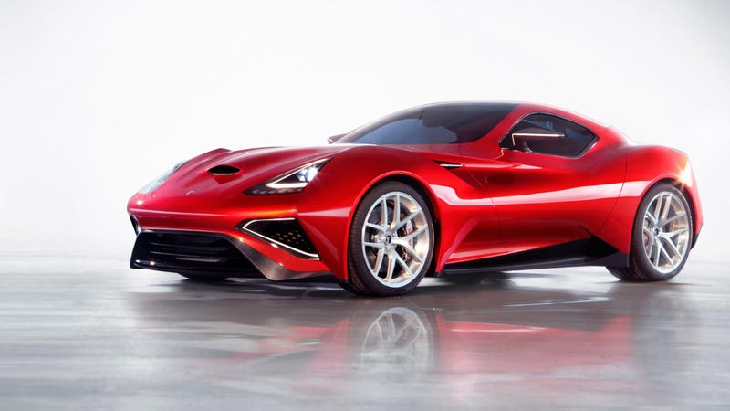 What Does This $4 Million One-Off Supercar Remind You Of?