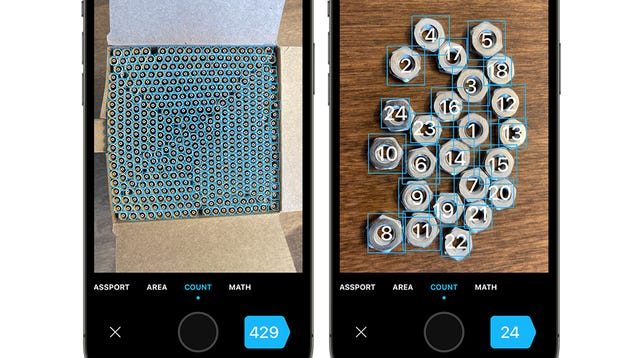 This App Uses Your Phone s Camera to Automatically Count Up a Pile of Objects