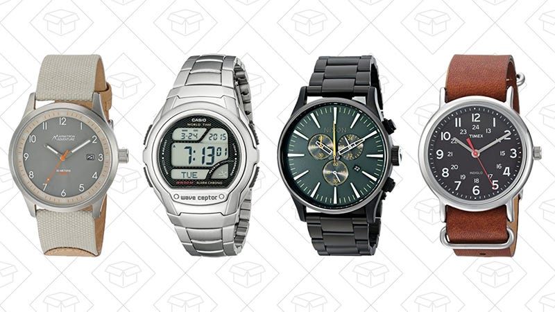 Up to 40% off watches for back-to-school