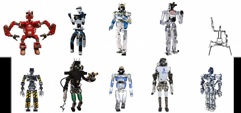 Illustration for article titled Los 24 robots de la DARPA Robotics Challenge de este fin de semana