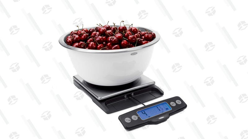 OXO Good Grips Stainless Steel Food Scale | $37 | Amazon