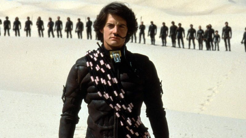 35 years after David Lynch's version, Dune is coming back with a whole new cast.