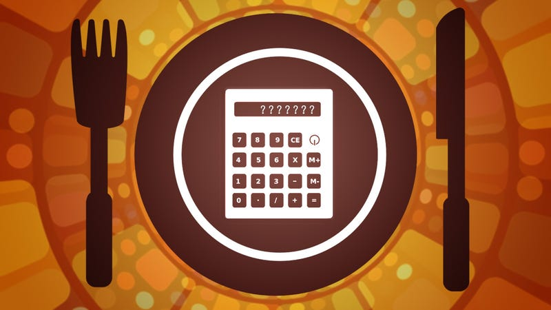 How does a calorie calculator for your food work?