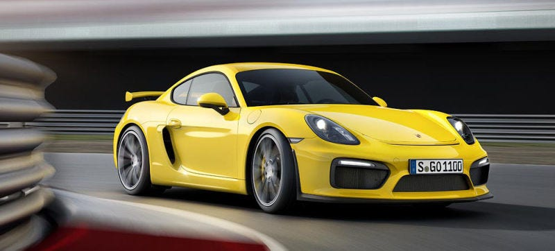 Illustration for article titled The Next Porsche Cayman GT4 Could Keep The Flat-Six And Manual Transmission