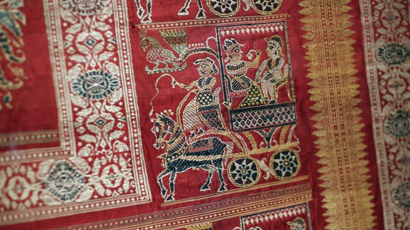 Illustration for article titled This Exhibition of Indian Textiles Looks Stunning