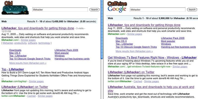 Caffeine or traditional google colourmoves