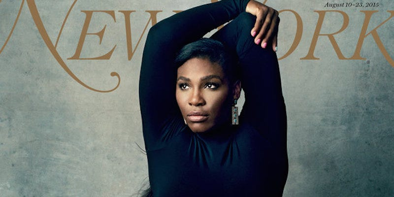 Illustration for article titled Serena Williams Is Queen of Tennis, Everything on New York Cover
